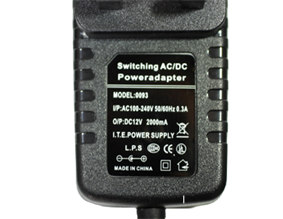 Power Supply Mains Adapter Ac Dc Adapter 12v 2a Uk For Led